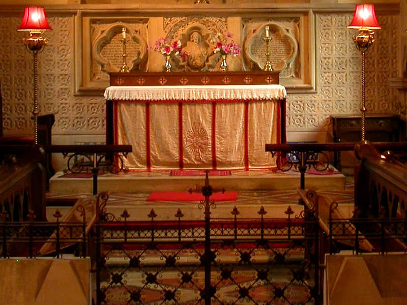 Storridge Church Altar